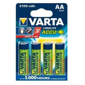 Varta - VARTA AA / Micro / HR06 2100mAh 1.2V Rechargeable Battery - Size AA - BS138-CB