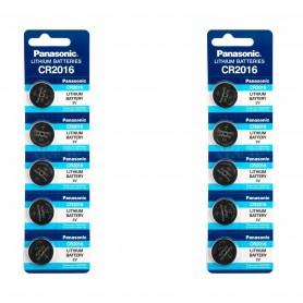 Panasonic - Panasonic Professional CR2016 3V Battery - Button cells - NK423-CB www.NedRo.us