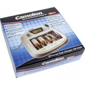 Camelion - Camelion CM-3298 9V AA AAA C D EU-Plug Battery Quick charger - Battery chargers - CM-3298 www.NedRo.us