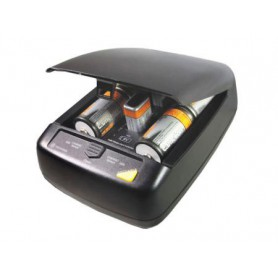 Camelion CM-9388 9V AA AAA C D EU-Plug Battery Quick charger