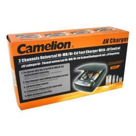 Camelion - Camelion CM-9388 9V AA AAA C D EU-Plug Battery Quick charger - Battery chargers - CM-9388 www.NedRo.us