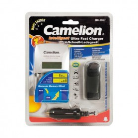 Camelion - Camelion BC-0907 AA AAA EU-Plug Ultra fast battery charger - Battery chargers - BC-0907 www.NedRo.us