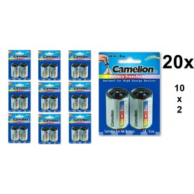 Camelion - Camelion AA R6 to D Mono R20 Aluminium Adapter - Battery accessories - BS341-CB www.NedRo.us