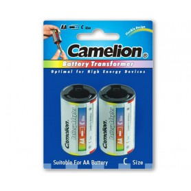 Camelion, Camelion AA R6 to C Baby R14 Aluminium Adapter, Battery accessories, BS342-CB, EtronixCenter.com