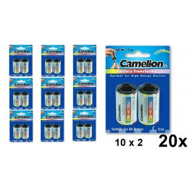 Camelion - Camelion AA R6 to C Baby R14 Aluminium Adapter - Battery accessories - BS342-CB www.NedRo.us