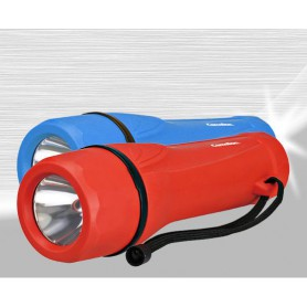 Camelion - Camelion rubber flashlight including 2x D R20 batteries - Flashlights - BS343-CB www.NedRo.us