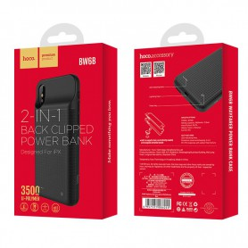 HOCO - HOCO 3500mAh Powerbank case pentru iPhone X / XS - Powerbanks - H100236 www.NedRo.ro
