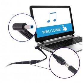 OTB - Adaptor încărcător 7.4*5mm / 4.5*3mm pentru Dell Vostro 5460 V5460 HP M4 Pavilion 15-E029TX Dell XPS 12 Dell XPS 13 - A...