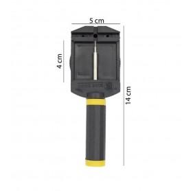 NedRo - XL Horlogeband schakel pin verwijderaar band inkorter - Horloge gereedschap - TB004 www.NedRo.nl