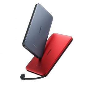 UGREEN - UGREEN 10000mAh Slim Powerbank with Lightning and USB - Powerbanks - UG420-CB www.NedRo.us