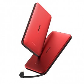 UGREEN - UGREEN 10000mAh Slim Powerbank cu Lightning și USB - Powerbanks - UG420-CB www.NedRo.ro