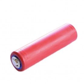 Sanyo - Doorbell battery from Sanyo 3350mAh 3.7V 10A Button Top - Size 18650 - NK424-CB www.NedRo.us