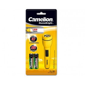 Camelion, Camelion flashlight including 2x AA batteries, Flashlights, BS348-CB