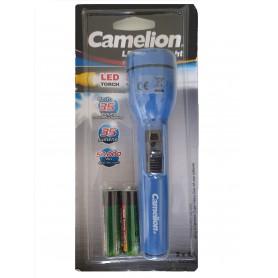 Camelion - Camelion zaklamp inclusief 2x AA batterijen - Zaklampen - BS348-CB www.NedRo.nl
