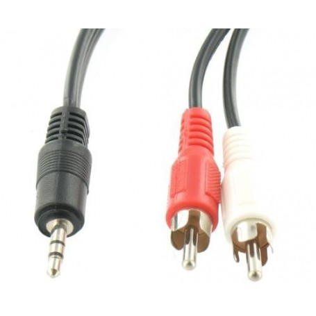 Oem - Tulp - Jack 3,5mm stereo - Audio cables - YAK153-CB