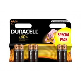 Duracell, Duracell LR6 / AA / R6 / MN 1500 1.5V Alkaline battery, Size AA, BS354-CB