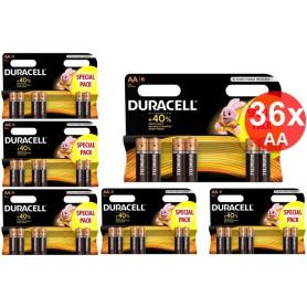 Duracell - Duracell LR6 / AA / R6 / MN 1500 1.5V Alkaline batterij - AA formaat - BS354-CB www.NedRo.nl