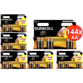 Duracell - Duracell LR6 / AA / R6 / MN 1500 1.5V Alkaline battery - Size AA - BS354-CB www.NedRo.us