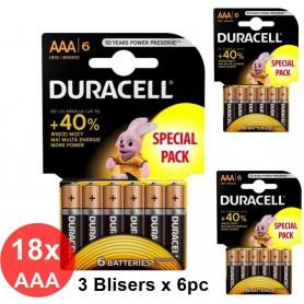 Duracell - Duracell LR03 / AAA / R03 / MN 2400 1.5V baterii alkaline - Format AAA - BS353-CB www.NedRo.ro
