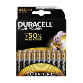 Duracell Plus Power LR03 / AAA / R03 / MN 2400 1.5V alkaline battery