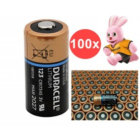Duracell - Duracell CR123A CR123 3V lithium battery - Other formats - NK048-CB www.NedRo.us