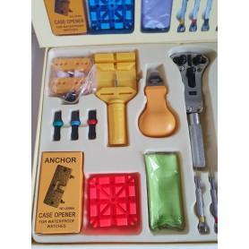 NedRo - 23 delig horloge gereedschap set Watch Tool Kit - Horloge gereedschap - TB005 www.NedRo.nl