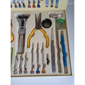 NedRo - Set de instrumente pentru ceasuri din 23 unelte - Unelte ceas - TB005 www.NedRo.ro