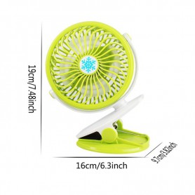 NedRo, V13 Adjustable Fan with Clip battery and charging cable, Computer gadgets, TB006-CB