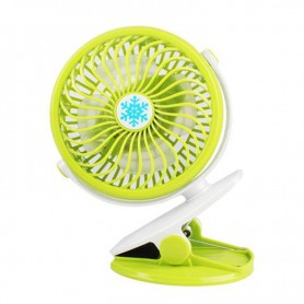 NedRo, V18 Adjustable Fan with Clip battery and charging cable, Computer gadgets, TB007-CB