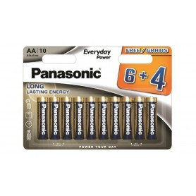 Panasonic - AA/LR6 Panasonic Alkaline Everyday Power - Size AA - BS361-CB