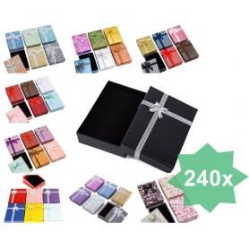 NedRo - Geschenk sieraden luxe verpakkingsdoosjes 9.5x6.5x2.8cm - Display en Verpakking - TB008-CB www.NedRo.nl