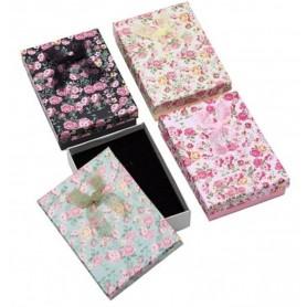 NedRo, 12 Stuks geschenk sieraden luxe verpakkingsdoosjes 9.5x6.5x2.8cm, Display en Verpakking, TB008-CB, EtronixCenter.com