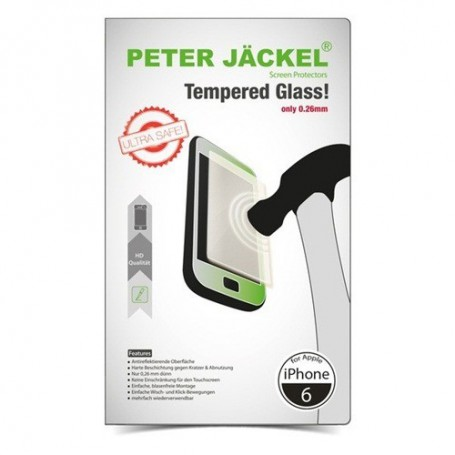 Peter Jäckel - Peter Jackel HD Tempered Glass for Apple iPhone 6 / 6S - iPhone tempered glass - ON1887 www.NedRo.us