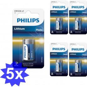 PHILIPS - Philips CR123 Lithium Photo 3V 1500mAh - Andere formaten - BS364-CB www.NedRo.nl