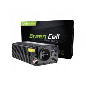 Green Cell - 600W DC 12V naar AC 230V met USB Stroom Inverter Converter - Zonnepanelen en Windturbines - GC001 www.NedRo.nl