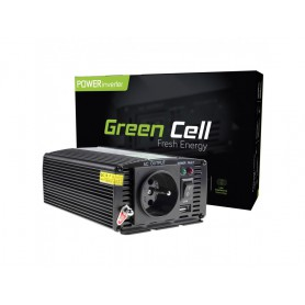 Green Cell - 600W DC 12V to AC 230V with USB Current Inverter Converter - Solar panels and wind turbines - GC001 www.NedRo.us