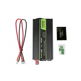 Green Cell - 2000W DC 12V to AC 230V with USB Current Inverter Converter - Solar panels and wind turbines - GC007 www.NedRo.us