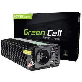 Green Cell - 1000W DC 24V la 230V cu USB Convertor Inverter curent - Panouri solare și turbine eoliene - GC004 www.NedRo.ro