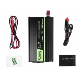 Green Cell - 1000W DC 24V to AC 230V with USB Current Inverter Converter - Solar panels and wind turbines - GC004 www.NedRo.us
