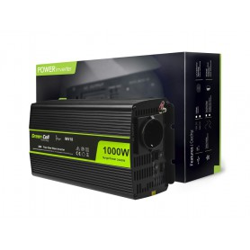 Green Cell - 2000W DC 24V la 230V cu USB Convertor Inverter curent - Pure/Full Sine Wave - Panouri solare și turbine eoliene ...