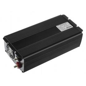 Green Cell - 2000W DC 24V naar AC 230V met USB Stroom Inverter Converter - Pure/Full Sine Wave - Zonnepanelen en Windturbines...