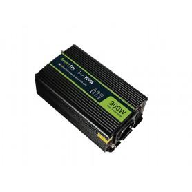 Green Cell - 600W DC 24V naar AC 230V met USB Stroom Inverter Converter - Pure/Full Sine Wave - Zonnepanelen en Windturbines ...