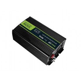 Green Cell - 600W DC 24V to AC 230V with USB Current Inverter Converter - Pure/Full Sine Wave - Solar panels and wind turbine...