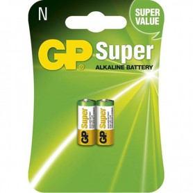 GP - GP Super LR1 / N / E90 / 910A 1,5 V Alkaline batterij (Duo Pack) - Andere formaten - BS365-CB www.NedRo.nl