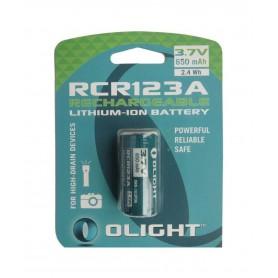 OLIGHT - Baterie reîncărcabilă Olight RCR123A 650mAh 3.7V - Alte formate - NK372-CB www.NedRo.ro