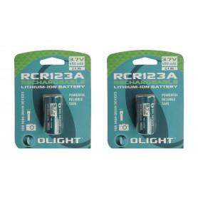 OLIGHT - Olight RCR123A 650mAh 3.7V oplaadbare batterij - Andere formaten - NK372-CB www.NedRo.nl