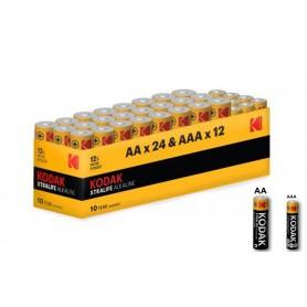 Kodak - Kodak Xtralife alkaline AA AAA 1.5V Powerbox - Format AA - BS368-CB www.NedRo.ro