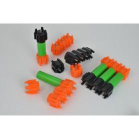 VRUZEND, Vruzend v2.1 DIY batterijset voor maximaal 30 18650 cellen, Batterijen accessories, NK434, EtronixCenter.com