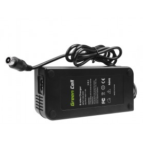 Green Cell - Green Cell 42V 4A (RCA 1-Pin Male) eBike fiets acculader - Batterijlader accessories - GC026 www.NedRo.nl
