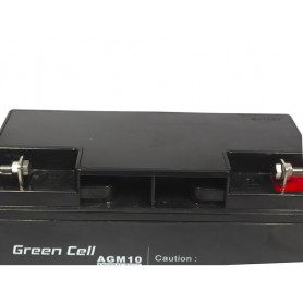 Green Cell - Green Cell 12V 20Ah (11mm) 20000mAh AGM Battery - Battery Lead-acid  - GC040 www.NedRo.us